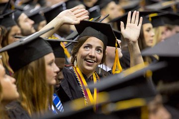 Speakers spell out secret to success<br>at FSU commencement