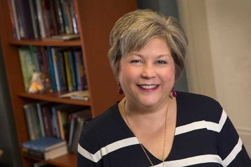 Speech-language pathology teaching professor recognized
