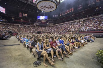 Incoming students hear message of unity