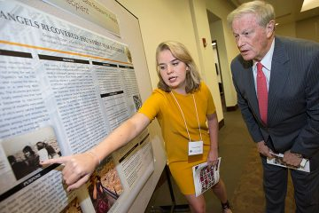 Undergrads show off research talents at President's Showcase
