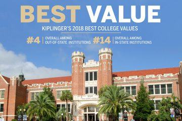 florida state university florida state jumps again in kiplinger s best college values