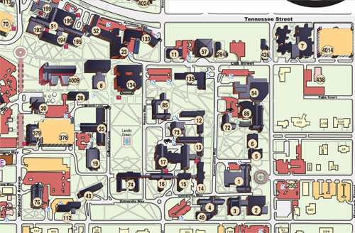 Florida State University Campus Map The Florida State University